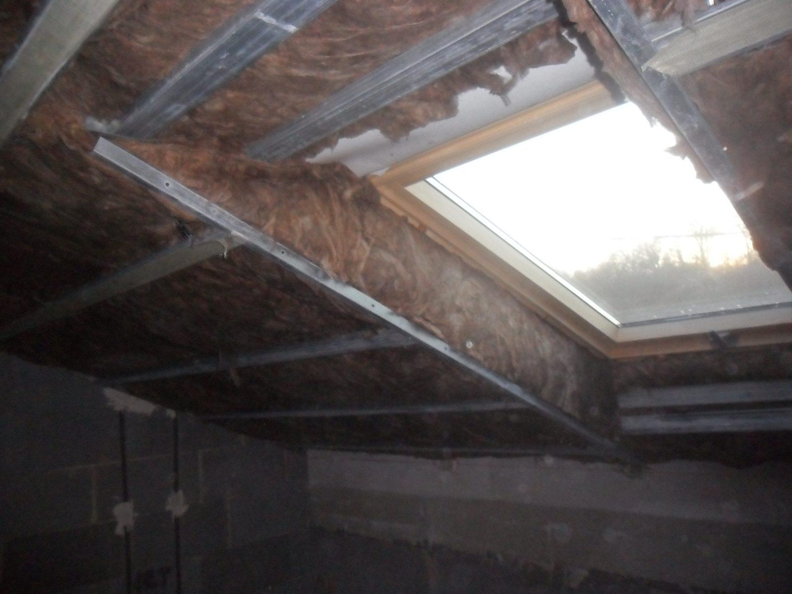 Tetőtér beépítés gipszkartonnal
