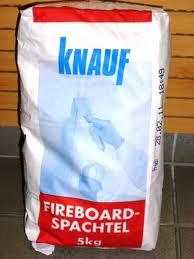 Knauf fireboard tűzvédelmi glett