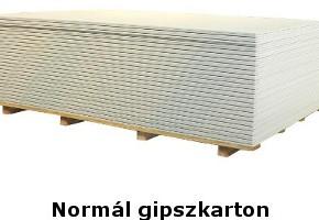 Normál gipszkarton doboz