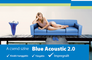 Rigips Blue Acoustic RF hanggátló gipszkarton