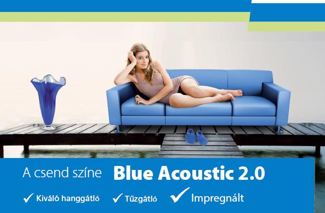 rigips blue acoustic hanggátló gipszkarton