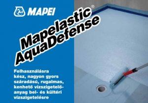 Mapei Mapelastic Aquadefense kenhető vízszigetelő anyag
