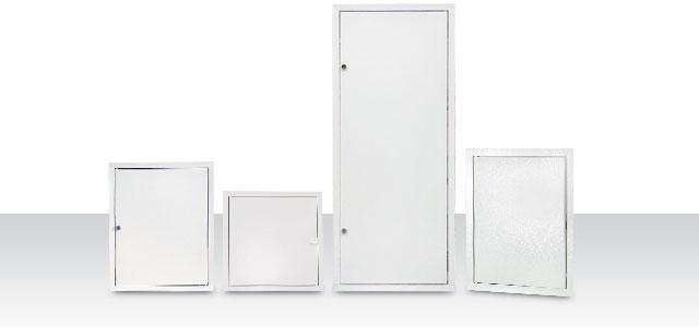 Fém revíziós ajtók és szerelőajtók